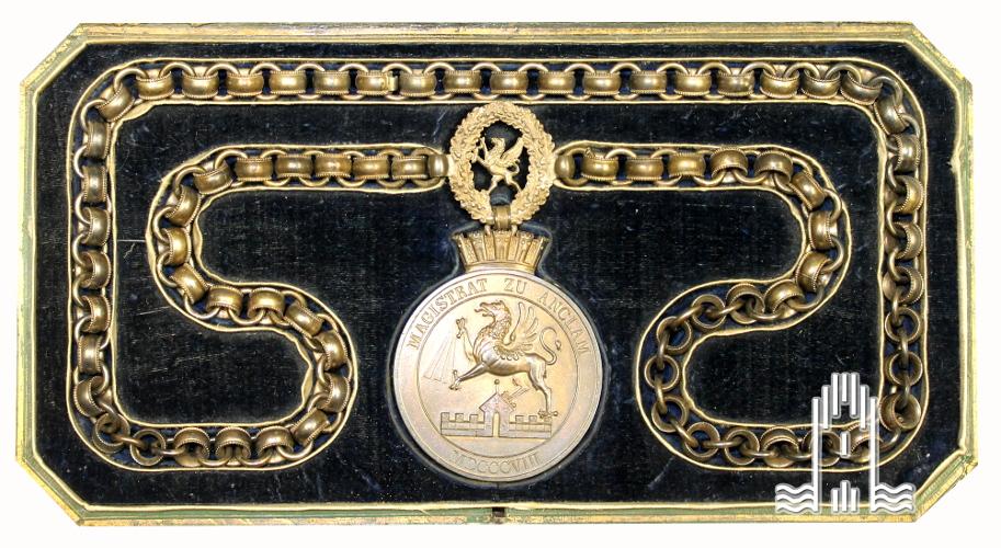 Amtskette des Anklamer Bürgermeisters, 1808
