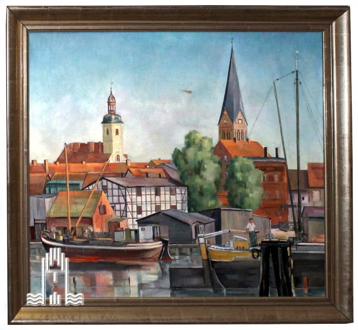 Godow - Anklamer Hafen