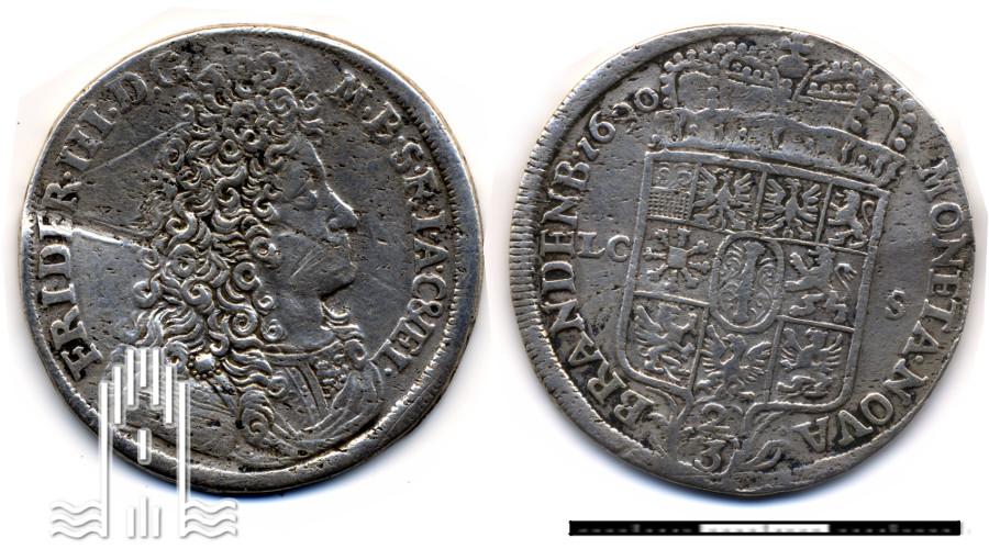 Brandenburger Gulden von 1690