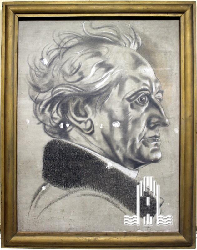 K.A. Lattner - Bild von Goethe