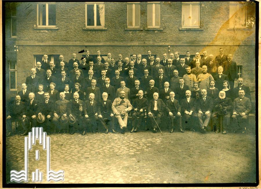 Die Stadtverwaltung von Anklam, 1925