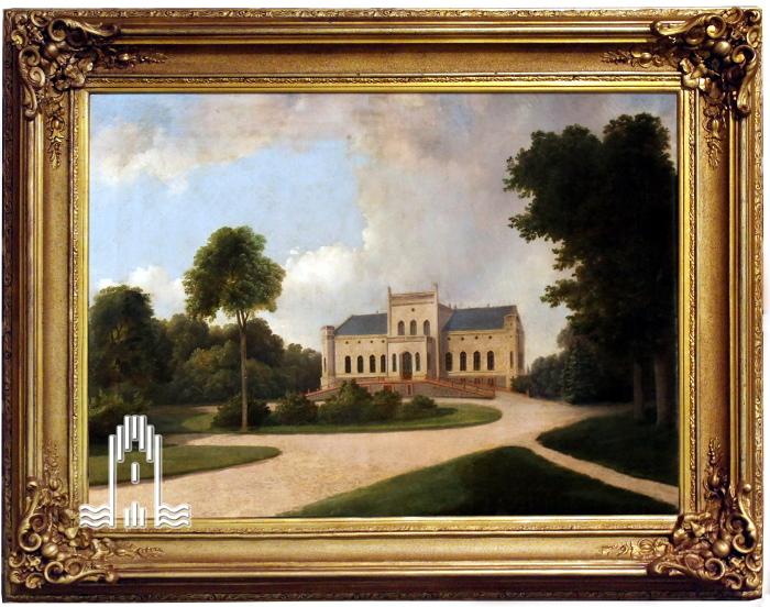 Bernhard Peters - Schloss Menzlin