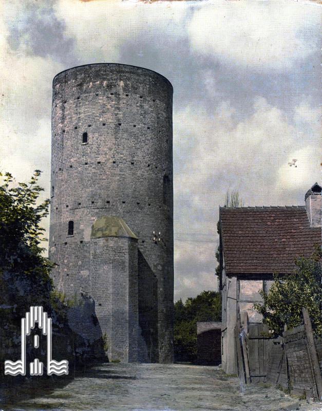 Anklamer Pulverturm - Ostseite