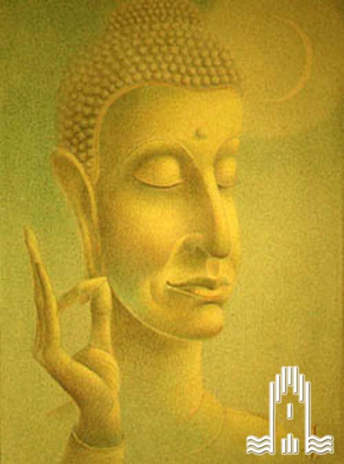 K.A. Lattner - Buddhabildnis