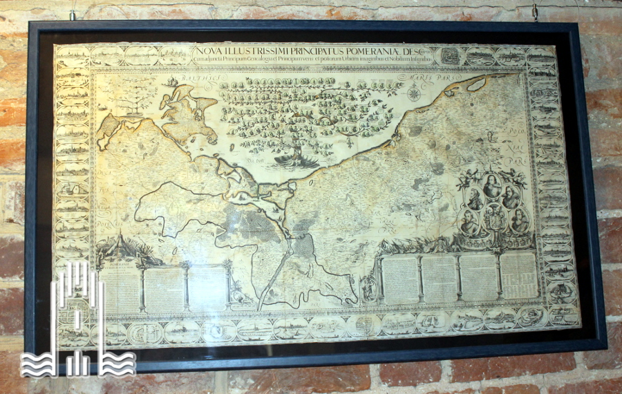 Nachbildung der Lubinschen Karte