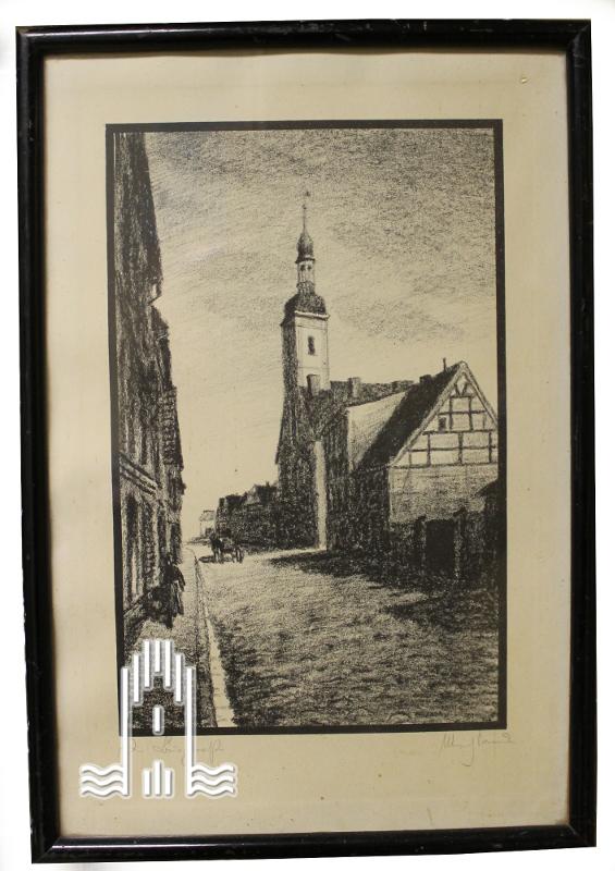 Sander - Burgstraße in Anklam
